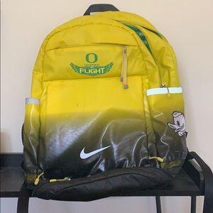 Oregon Ducks athlete backpack
